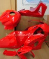 CBR600RR 2007-2017 Fibreglass race fairings - Honda Red