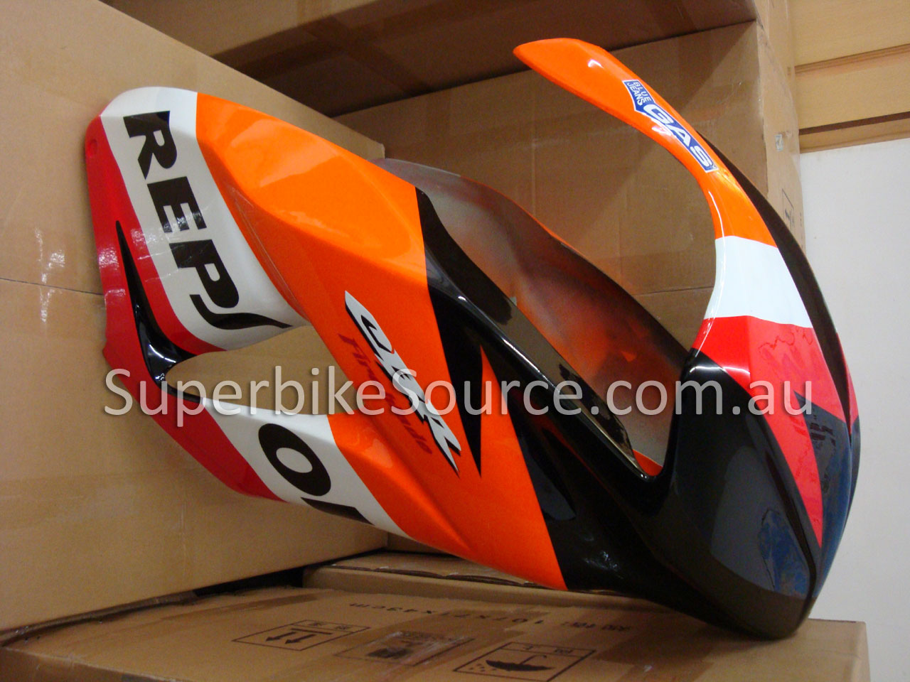 Cbr1000rr 2008 2011 Fibreglass Race Fairings Repsol